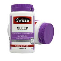 保税区直发 澳大利亚Swisse 草本精华改善睡眠片100粒 2瓶装