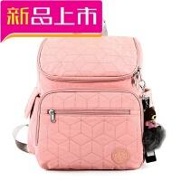 妈咪包多功能超大容量小手提包双肩包女母婴背包妈妈包出行待产包
