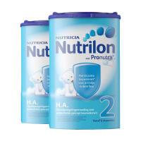 【2段半水解】保税区发货 荷兰 牛栏Nutrilon诺优能 HA半水解婴幼儿奶粉 2段(6-12个月)  750g*2罐 海外购