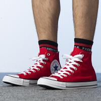 Converse匡威 男鞋女鞋 ALL STAR�\�有蓍e鞋高�头�布鞋 165695