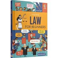 Usborne Law for Beginners 法律知识科普绘本 尤斯伯恩百科读物 儿童英语学习 10-13岁 青少