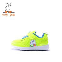 Miffy米菲童鞋2017春秋款透气男童鞋女童运动鞋儿童跑步鞋网鞋