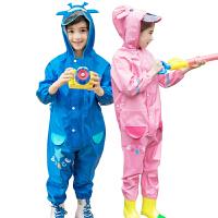 KK树新款儿童连体雨衣男女童幼儿园套装宝宝防水雨衣1-3岁