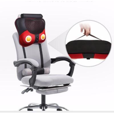 颈椎按摩器颈部腰部背部肩部按摩枕头家用多功能全身按摩靠垫