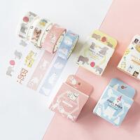 沐染和纸胶带 LIFE生活系列 创意和纸胶带 可爱手绘DIY手账装饰胶带手撕贴纸