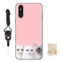 VIVI V9-X优品通手机壳沃德丰v9-X卡通硅胶时尚可爱猫咪潮款6.0寸