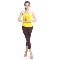 女春夏瑜伽服套装运动背心健身服女夏愈加服