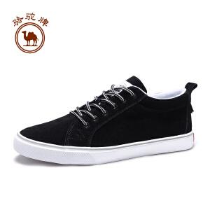 骆驼牌 男鞋秋季新款舒适透气板鞋男士耐磨时尚休闲鞋