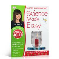 【全店300减100】DK系列进口英文原版自然拼读练习册阶段2 Science Made Easy Ages 10�C11