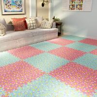 儿童卧室拼图地板爬行垫宝宝大号榻榻米家用
