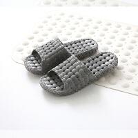 浴室拖鞋男女室内居家情侣洗澡漏水镂空厚底软底卫生间凉拖鞋