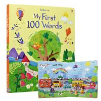 【首页抢券300-100】Usborne My First 100 Words 我的100个单词图画书 幼儿英语启蒙绘本