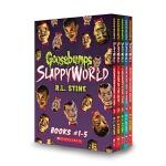 【中商原版】鸡皮疙瘩第二季1-5册盒装 英文原版 Goosebumps Slappyworld 惊悚小说 儿童畅销文学