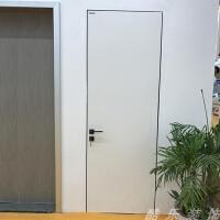 隐形门暗门无框门室内白色暗抗倍特板简约美式免漆窄边框定制