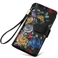 钱包女长款新款韩版潮大容量卡包个性拉链钱夹多功能女士手包