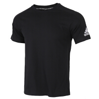 Adidas阿迪�_斯男�b�\�有蓍e透��A�I短袖上衣T恤FL3949