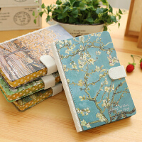 32K带扣笔记本韩国可爱学生文具手帐本创意日记本厚商务记事本子