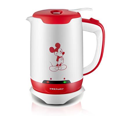 荣事达 电水壶家用1.7L容量304不锈钢红色GS1723 1.7L保温开关,V型嘴设计