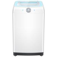 Haier海尔 9公斤智能直驱变频波轮洗衣机EB90BM69U1钢化玻璃上盖,立体洗