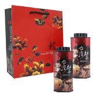 【台湾年货礼盒】龙源茶品 台湾杉林溪蜜香无毒乌龙红茶2罐组 75g/罐【2件75折 1月9号发货】