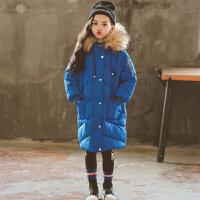 女童冬装儿童装中长款外套宝宝外衣