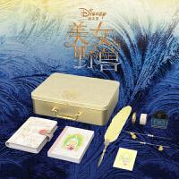 木墨原创 kinbor原创《美女与野兽》手账本套装 迪士尼梦幻卡通笔记本记事本礼盒
