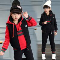女童运动套装秋冬装三件套