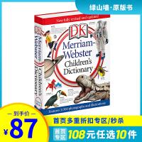 【拼团价¥98】Merriam-Webster Children's Dictionary 精装 DK 韦氏儿童图片字