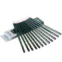得力7084 安全考试专用填涂答题卡2B木质铅笔学生铅笔12支/盒