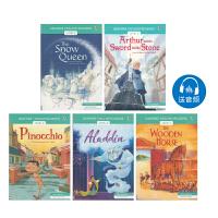 Usborne English Readers Level 2 英语小读者分级阅读 中级5册 英文阅读素材 儿童英文原