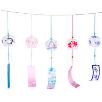 风铃 小清新日式小樱花和风挂件女生儿童房间门窗挂饰朋友同学对象生日礼物创意礼品