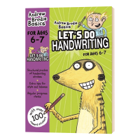 Let's do Handwriting 6-7岁 英国小学二年级英语书写练习册 英文原版教材