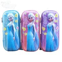 迪士尼文具盒女小�W生女童�P袋�和�可�坫U�P盒冰雪奇��K菲���P盒