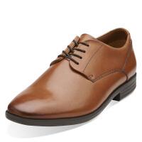 Clarks/其乐男鞋2017秋冬新款商务休闲系带皮鞋Glenrise Walk专柜正品直邮