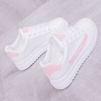新款小白鞋ins帆布女鞋子韩版学生chic港风百搭板鞋透气女鞋
