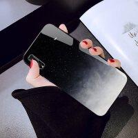 潮ins风星空玻璃壳华为mate20/p20/10/9/pro/20x手机壳nova3/3i/4