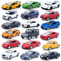 奔驰G63大G车模兰博基尼跑车小汽车模型仿真合金男孩儿童玩具车