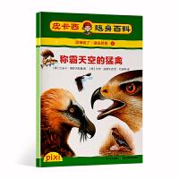 皮卡西 称霸天空的猛禽 适读年龄6-10岁小学生随身百科书装进口袋书 百科知识总结趣味问答益智游戏激发孩子阅读兴趣