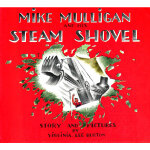 Mike Mulligan and His Steam Shovel 迈克・马力甘和他的蒸汽挖土机 ISBN 9780395259399
