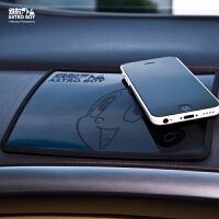 阿童木车载手机防滑垫 大号耐高温车用车内置物垫 卡通汽车用品