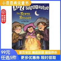 进口英文原版The Ninth Nugget A to Z 神秘案件 #14 第九块金子 6-12岁