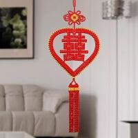 手工串珠DIY福字画材料包创意家居客厅挂件挂饰