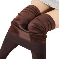 秋冬款女外穿加绒打底裤保暖一体裤连裤袜冬季长裤