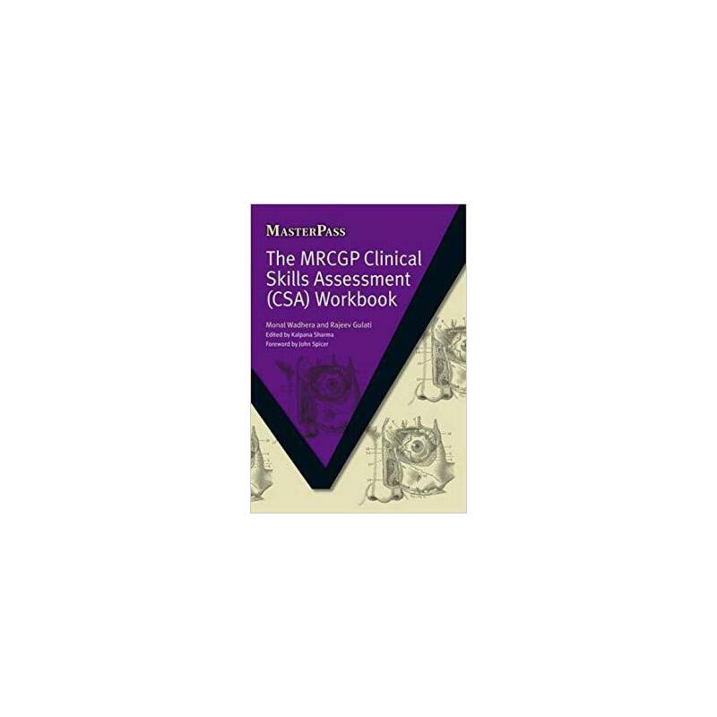 【预订】The MRCGP Clinical Skills Assessment (CSA) Workbook 9781846192692 美国库房发货,通常付款后3-5周到货!