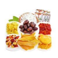 【当当自营】泰国进口 西贡小姐热带水果木瓜60g/椰子干60g/阿联酋椰枣椰子干90g*3包 买3包送2包