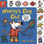 英文原版 小鼠波波外出 学单词纸板书 低幼启蒙认知 Maisy's Day Out: A First Words Bo