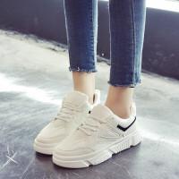 新款休闲鞋板鞋女韩版ulzzang学生原宿街拍运动鞋百搭平底休闲鞋