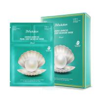韩国JMsolution海洋珍珠玻尿酸水光三部曲面膜 紧致舒缓嫩白提亮 10片