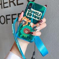 �n���O果x手�C��iphone8硅�z套全包防摔7plus��性可��6s�炖K女款 三只熊6/6s(4.7)