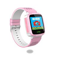 智能儿童插卡手表防丢定位通话亲情号+拍照功能 一键求救 语音微聊 粉色特价